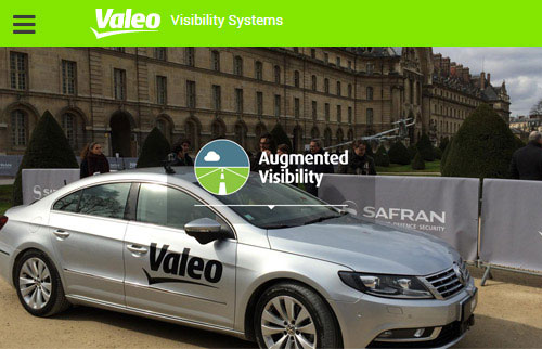 UX et Design Application VALEO VISIBILITY SYSTEMS